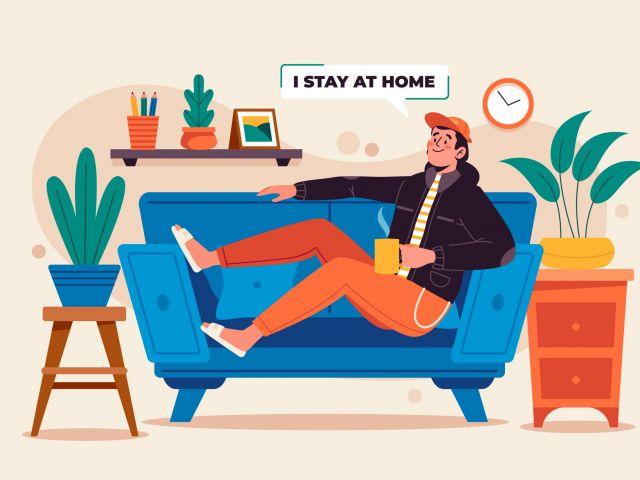 rester chez soi